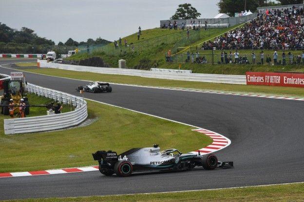 Mercedes engineer: 'We hebben minder brandstof gebruikt en de motor opgeschroefd'