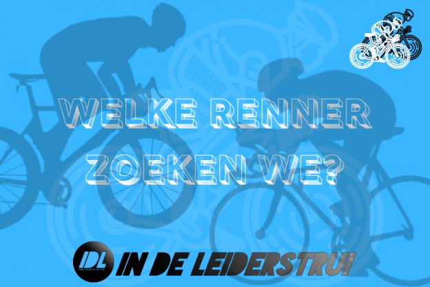 In de Leiderstrui wielerrebus #2: Welke wielrenner zoeken we? (+ Antwoord)