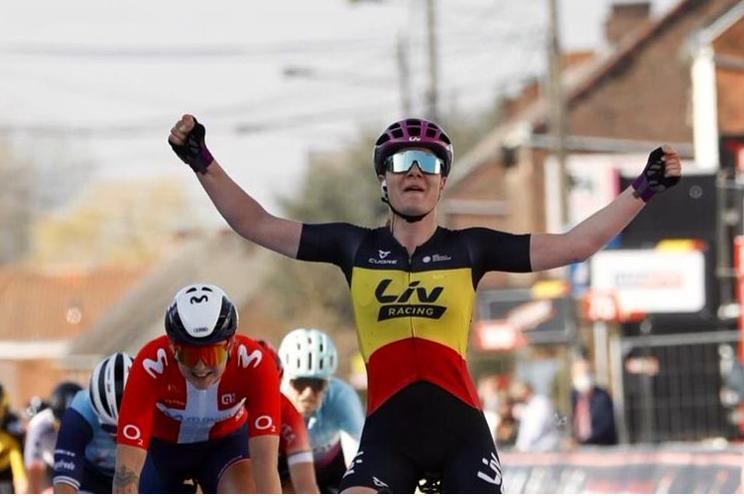 Kopecky wint slotetappe en eindklassement Lotto Belgium Tour